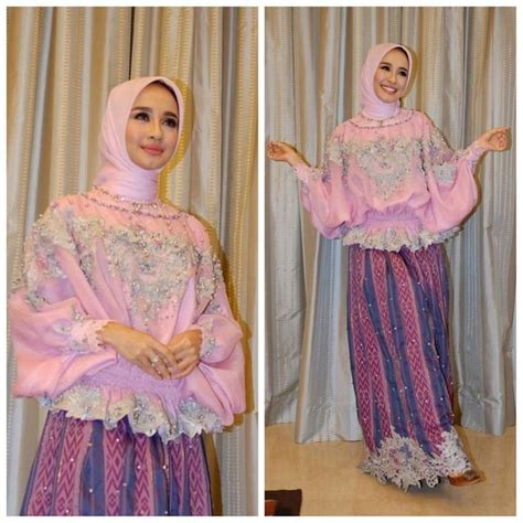 Brokat Brukat Bahan Kain Kebaya Dress Gaun Gamis Biru Mint P7 162 best images about model kebaya modern kebaya gaun eksklusif on