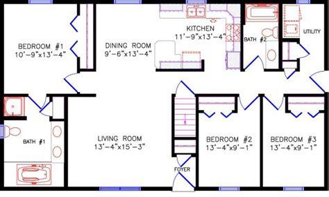 28x48 floor plans floor plan