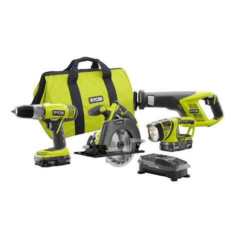 what do the symbols on cordless power tool batteries and chargers mean ryobi 18 volt one lithium ion cordless super combo kit 4