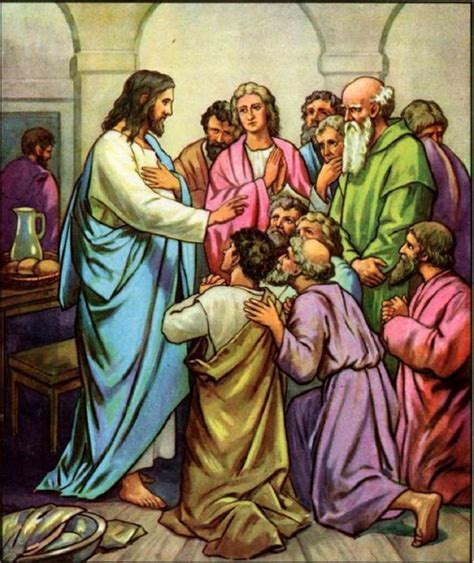 jesus and his disciples jesus appears to his disciples the inspirational