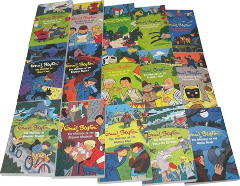 Classic Stories Of Mystery enid blyton classic mystery stories 15 books set new ebay