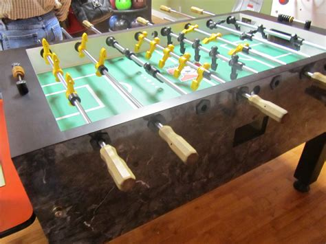used tornado foosball table home model used parts forsale