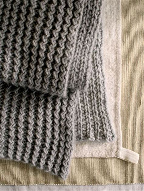 bee stitch knitting rick rack scarf the purl bee winter projects