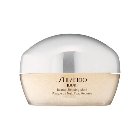 Sleeping Mask shiseido ibuki sleeping mask review