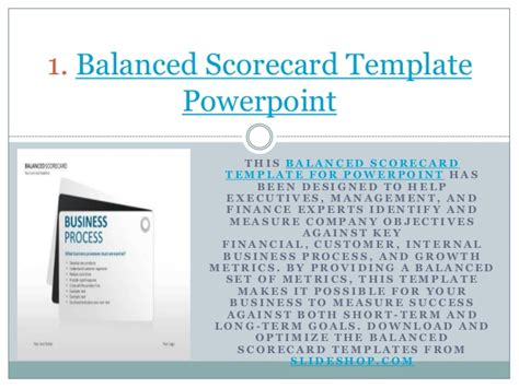balanced scorecard presentation slideshare car release date