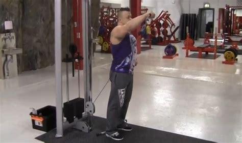 cable front deltoid raise bodybuilding wizard