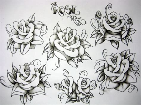tattoo flash art roses thinking about going americana for my sleeves