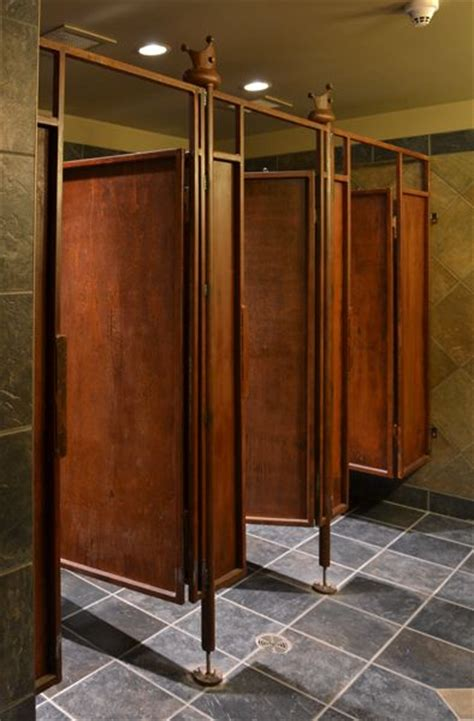 wood bathroom stalls rustic bathroom stalls donkey barn pinterest
