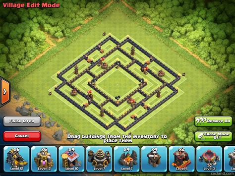 th9 layout new update massacore 2 0 solid post update th9 farming layout