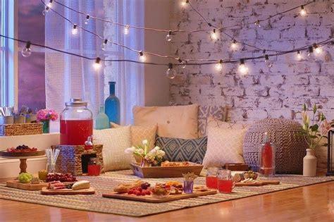 indoor picnic living room  home depot
