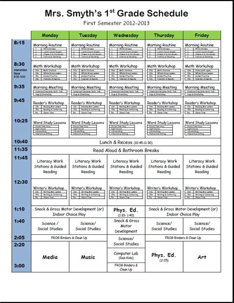 the first grade parade schedule cards are here best 25 first grade schedule ideas on pinterest first