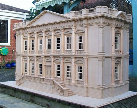 large dolls house uk for sale large bespoke dolls house mansion the dolls house exchange
