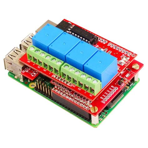 Relay Board For Raspberry Pi 3 Channel 4 channel relay board 12v compatible for raspberry pi