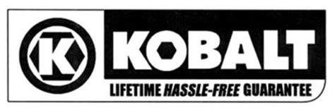 kobalt lifetime hassle  guarantee trademark  lf