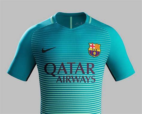 Barcelona Third tercera camiseta nike barcelona 2016 2017 planeta fobal