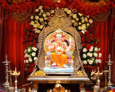 ganpati decoration ideas  home  royale