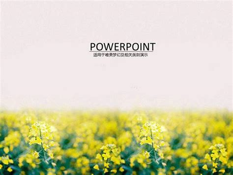 template powerpoint landscape garden landscape ppt template for rape ppt