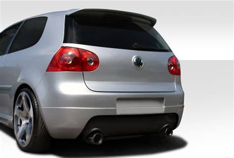 volkswagen golf gti rabbit cr  rear lip  spoiler air dam euro spec