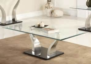 modern glass coffee table to bring contemporary touch