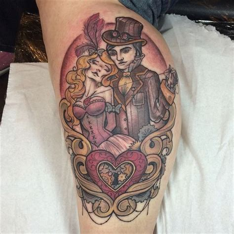 victorian london tattoo designs 52 steunk tattoo designs you have to like