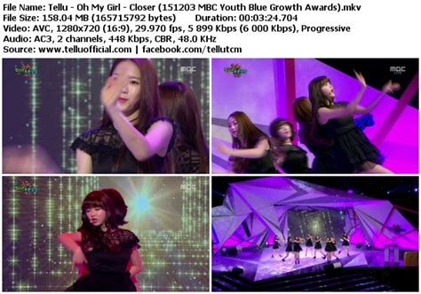 download mp3 closer by oh my girl download perf oh my girl closer mbc youth blue