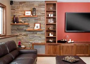 Wall Shelves Ideas Living Room Floating Wall Shelves Decorating Ideas Living Room Transitional With Wall Shelves Leather Pouf