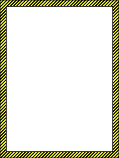 caution border clip 23