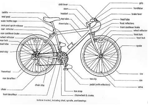 the anatomy of a mountain bike cool biking zone anatomy02