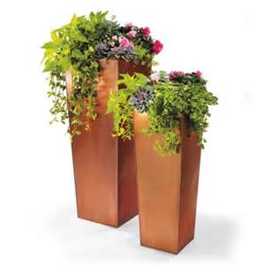 column planters 33 quot and 42 quot from grandinroad