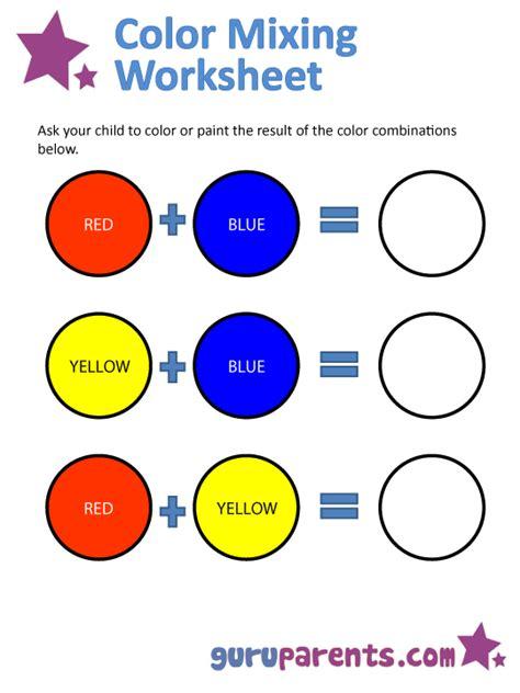 mixing colors guruparents