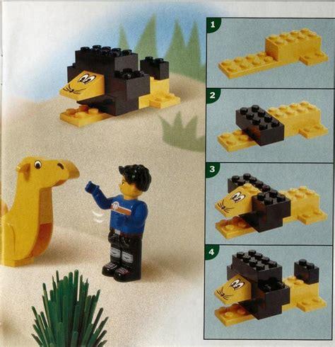 printable lego animal instructions lego animal adventures bucket instructions 4116 creator