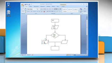 flow chart  microsoft word  youtube