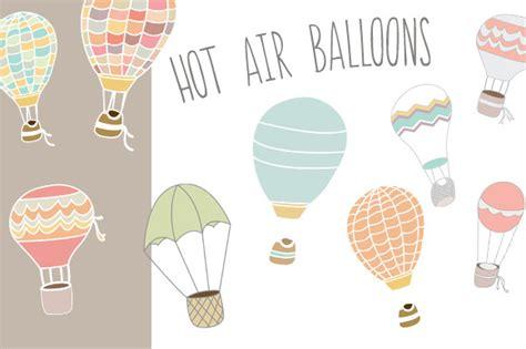 illustrator tutorial hot air balloon hot air balloons illustrations on creative market