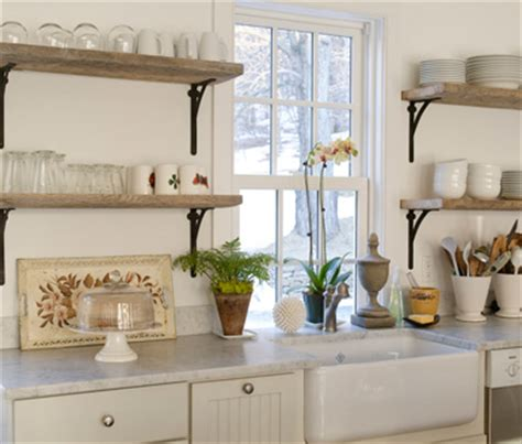 Kitchen Shelves Vs Cabinets Maison In The Kitchen Open Shelving Vs Cabinets