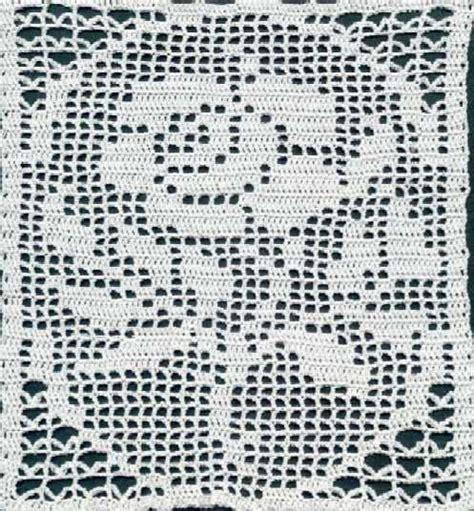 crochet filet free oval pattern tablecloth crochet patterns