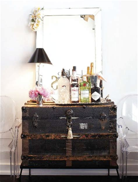 Home Decor Trunks | belle maison decorating with trunks vintage luggage