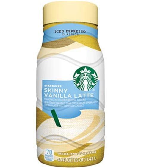 Iced Espresso Classics   Skinny Vanilla Latte   Starbucks Coffee Company