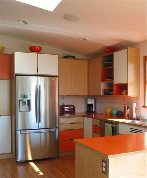 modern kitchen cabinets seattle mid century modern kitchen cabinets by kerf design
