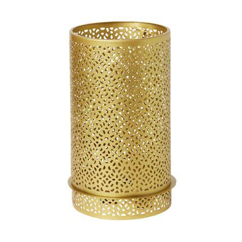 kerzenhalter 20 cm duni metall kerzenhalter bliss in gold 20 cm tafeldeko