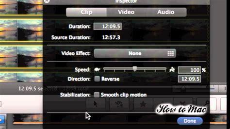 imovie tutorial time lapse how to make timelapse video using imovie time lapse