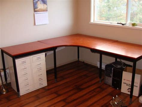 Make Your Own Corner Desk Create Your Own Home Office Desk
