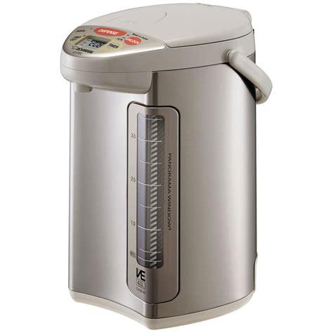 Water Dispenser Zojirushi zojirushi ve hybrid stainless steel water boiler
