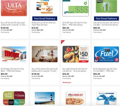 Groupon Uber Gift Card - ebay save on airbnb groupon bedbath beyond ulta bp speedy meijer and more tur