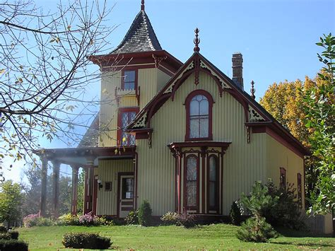gothic revival home mid 19th century gothic revival cox house st peter mn