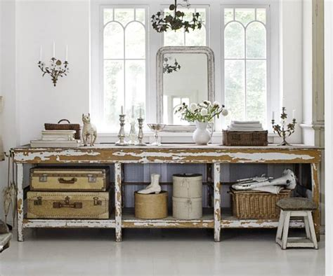 chic antique winter inspired decor