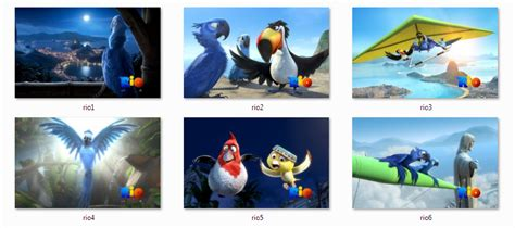 themes for windows 7 movies download rio movie windows 7 theme