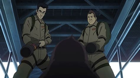 anime boy kidnapped new anime casts the ghostbusters as penguin hunting