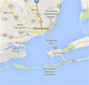 florida map pensacola 17 best images about my hometown pensacola fl the