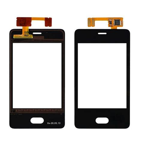 Back Door Nokia 501 touch screen digitizer for nokia asha 501 white by maxbhi