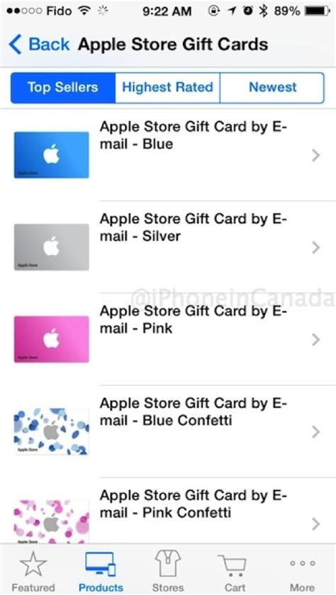 Apple Store Canada Gift Card - apple store ios app now supports passbook for gift cards in canada ecig canada zone